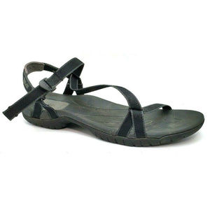 Teva Womens Zirra Black Sport Sandals Size 8.5